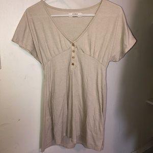 Pull&Bear Cream Sun-Dress